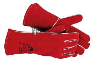 FH PUGNAX RED bőrkesztyű