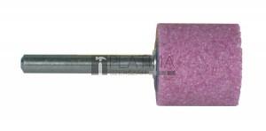 SPARK Csapos csiszolókővek, hengeres, 40A rózsaszín