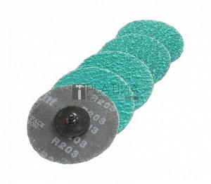 Z-Tools Premium fibertárcsa gyors rögzítésű készlet Inox
