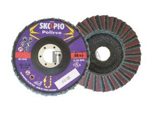 Skorpio Polirco lamellás kombi-vlies csiszolótányér F29 kúpos nagyon finom