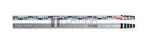 Teleszkópos szintezőléc 5m E és mm skála TC2-55A