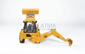 Bruder JCB 4CX markológép árokásóval /sárga/ (02428)