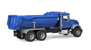 Bruder MACK Granite teherautó nyitott rakodótérrel (02823)