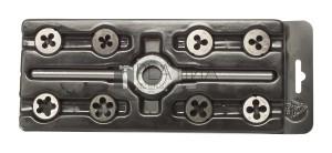 Bucovice 8+1 részes menetmetsző készlet WS M3-M12 Mini-1 No.330129