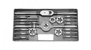 Bucovice 23 részes menetszerszám készlet HSS M12-M20 M2-II No.340200