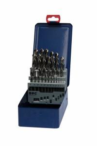 Bohrcraft 25 részes csigafúró készlet HSS-G d1,0-13,0/0,5 MG13