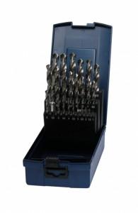 Bohrcraft 25 részes csigafúró készlet HSS-G d1,0-13,0/0,5 KG13