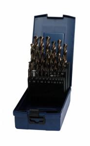 Bohrcraft 25 részes csigafúró készlet HSS-E Co5 d1,0-13,0/0,5 KE13