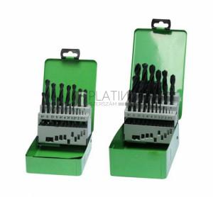 Z-Tools 19 részes csigafúró készlet HSS-R d1,0-10,0/0,5
