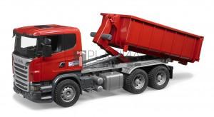 Bruder Scania R-szériás teherautó rakodótérrel (03522)