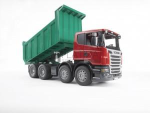 Bruder Scania R-szériás dömper (03550)