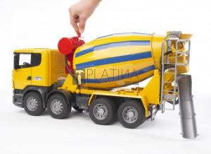 Bruder Scania R-szériás betonkeverő (03554)