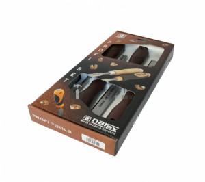 Narex 860300 asztalosvéső készlet 4 részes műanyag nyéllel 6-12-20-26mm
