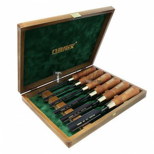 Narex 853300 Premium Wood Line Plus 6 részes holkervéső készlet 8-26