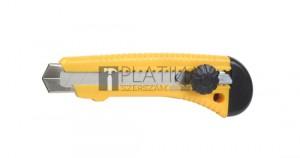 Fémsínes kés törhető pengével 18mm RSX28-1 csavaros
