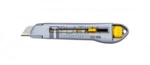 Fémházas kés törhető pengével 18mm RSX78 biztonsági pengerögzítővel