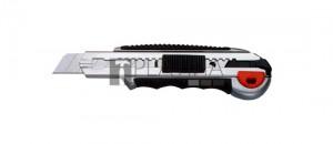 Fémházas kés törhető pengével 18mm +8 penge RSX1800-2 gumis