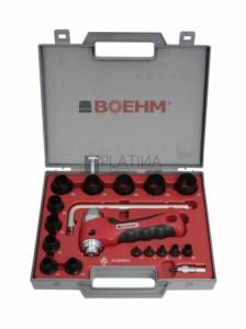 Boehm tömítéskivágó készlet 15+3r. 3-30mm + körző