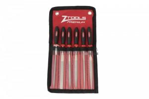 Z-Tools 6 részes gyémánt tűreszelő készlet P150 160/70mm
