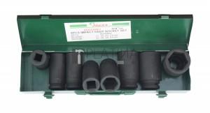 Hans 3/4  gépi dugókulcsfej hosszú készlet 8 részes 86608MJ (17-41mm)