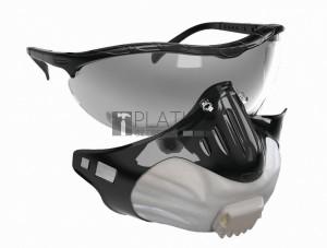 JSP FILTERSPEC részecskeszűrő FFP2 + szemüveg