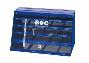 Bohrcraft csigafúró kínáló szekrény 435r. BD435leer (üres)