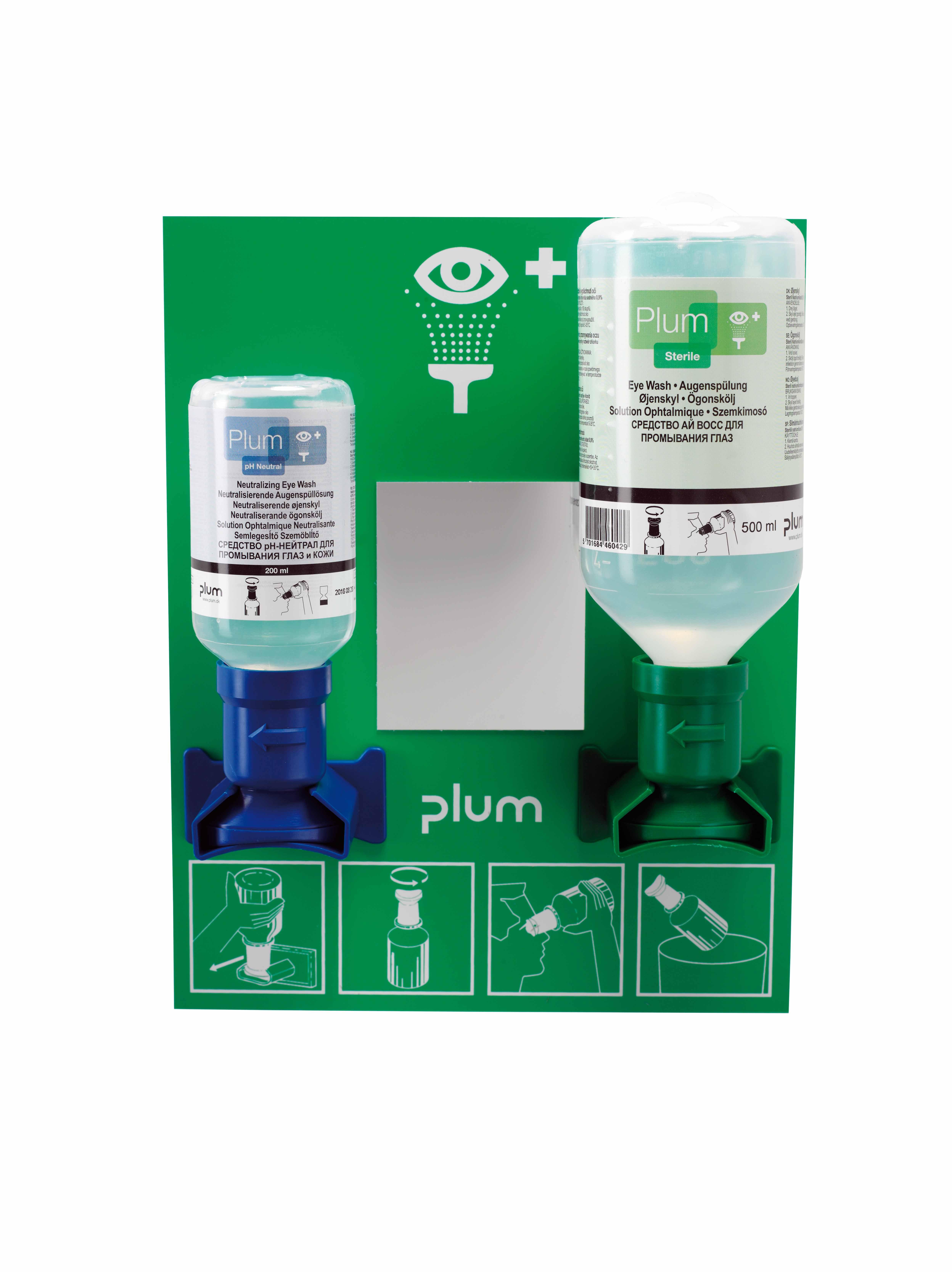 Plum 4773 Szemöblítő állomás + 2 flakon
