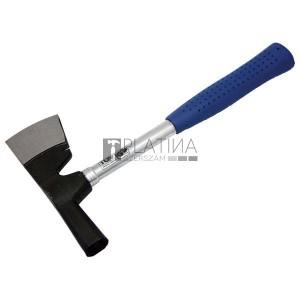 Kőműves kalapács, vakolatverő, Work Plus; TÜV/GS, fémnyelű, DIN1193-7298; 60dkg