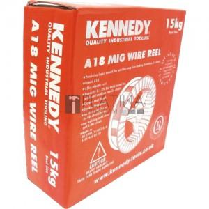 Kennedy A18 lágyacél Mig hegesztőhuzal raklapon 72db/1080kg