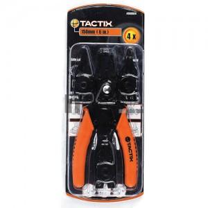 Tactix 4 részes seegerfogó készlet (cserélhető fejes)