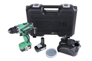 Hitachi DS10DAL akkus csavarbehajtó + LÁMPA (2 x 1.5Ah)