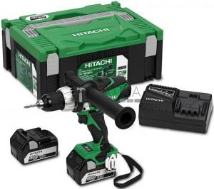 Hitachi-Hikoki DV18DSDL akkus ütvefúró (2 x 5,0 Ah) + Hitbox