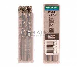 Hitachi HSS-G fémfúrók - DIN338 - 10db/csomag