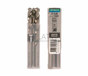 Hitachi HSS-G fémfúrók - DIN338 - 5db/csomag
