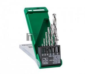 Hitachi HSS-G 6 részes fémfúró készlet - DIN338