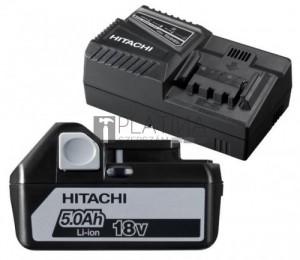 Hitachi UC 18YFSL-WA akku + töltő csomag (18V 5.0Ah)