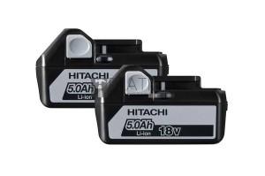 Hitachi akku csomag 2db (18V 5.0Ah)