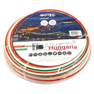 Hungaria csavarodásmentes locsolótömlők 25m