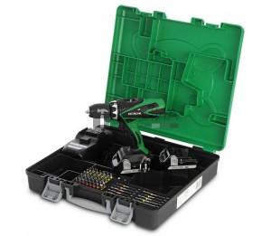 Hitachi DS18DSFL-TG akkus fúró -csavarbehajtó (2x1,5Ah + 55 részes profi bit)