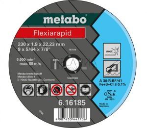 Metabo Flexiarapid vágótárcsák TF41 inoxhoz