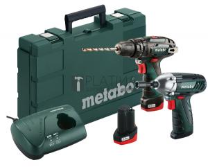 Metabo PowerMaxx Combo ütvefúró + ütvecsavarozó készlet (2 x 2.0Ah)