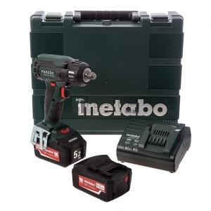 Metabo SSW 18 LTX 400 BL akkus ütvecsavarozó (2 x 4.0 Ah)