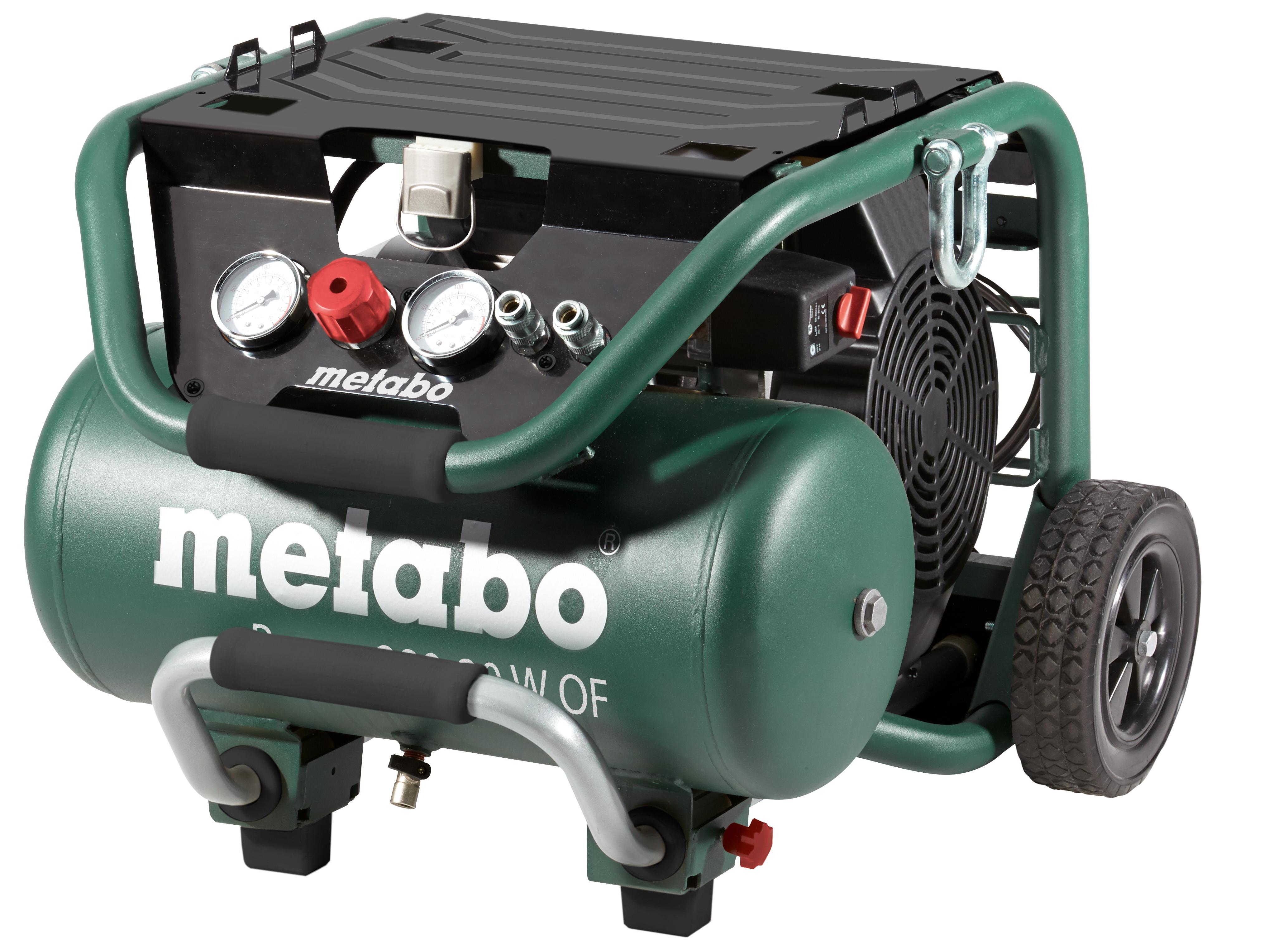 Metabo Power 400-20 W OF olajmentes kompresszor