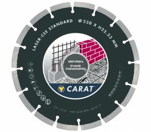 Carat szegmentált gyémánttárcsák - építőanyaghoz