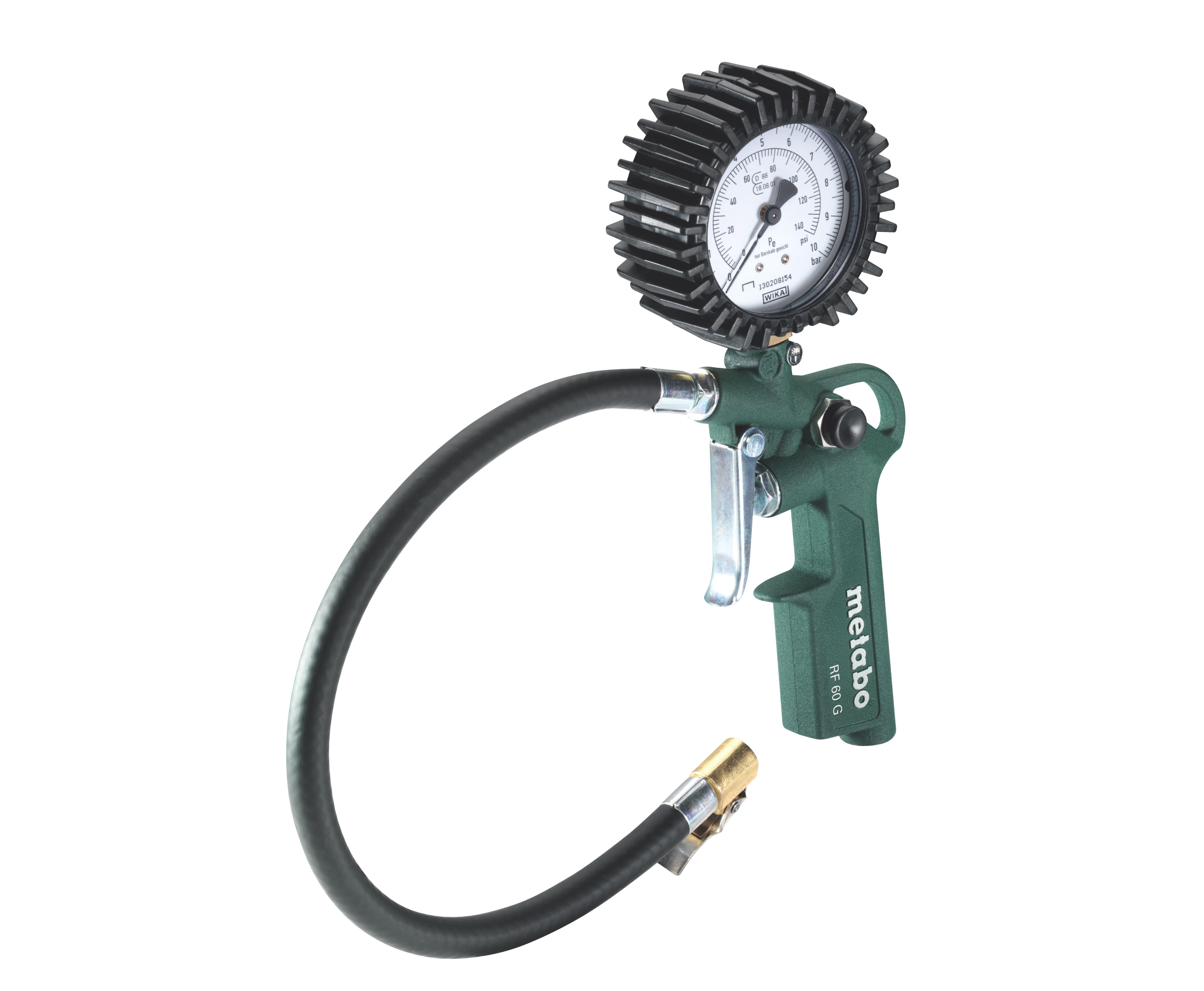 Metabo RF 60 G abroncsnyomásmérő-töltő (0.5 - 10 bar)