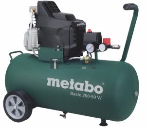 Metabo Basic 250-50 W kompresszor 50l, 1,5kW, 8bar