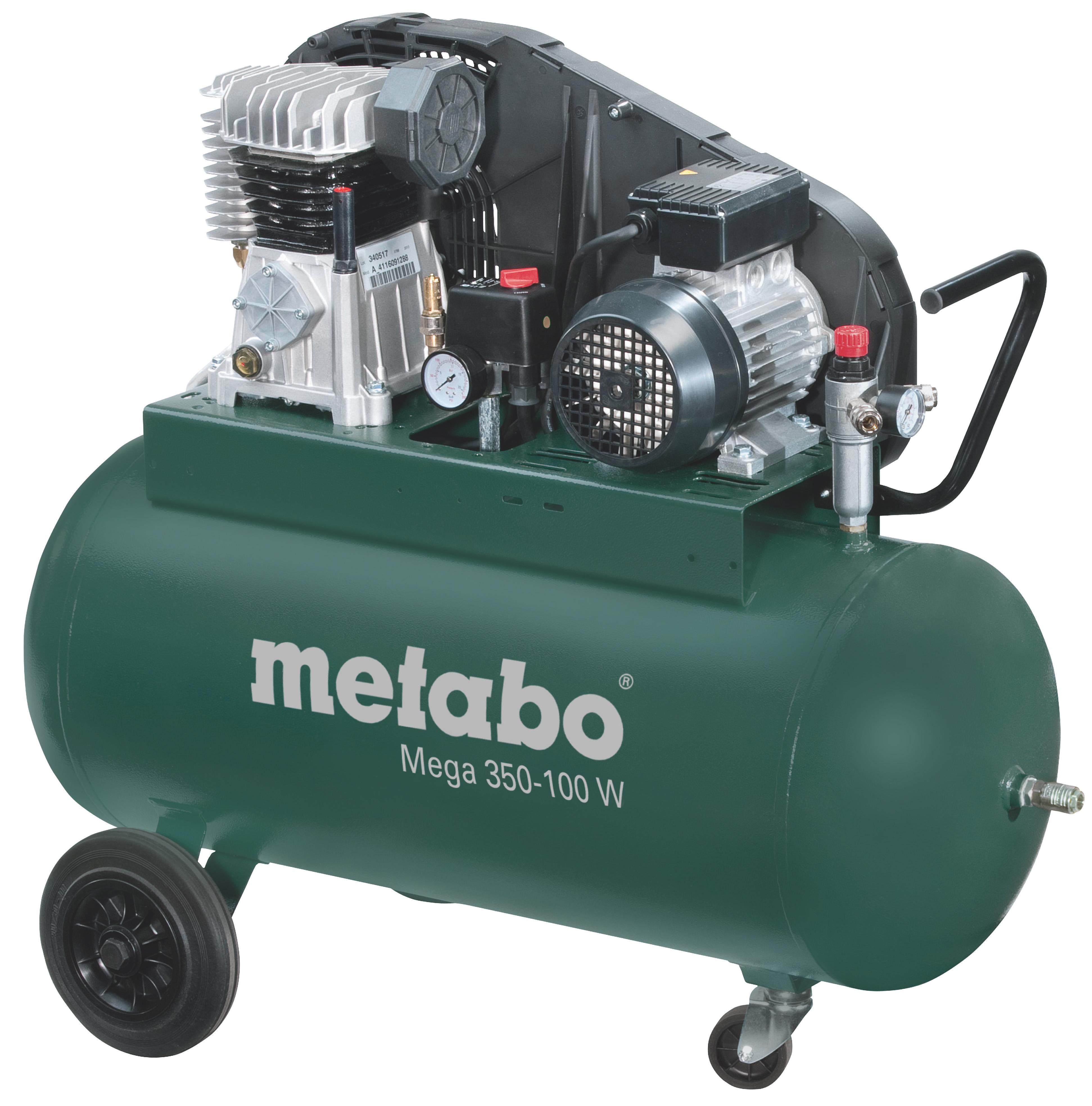 Metabo Mega 350-100 W kompresszor 90l, 2,2kW, 10bar
