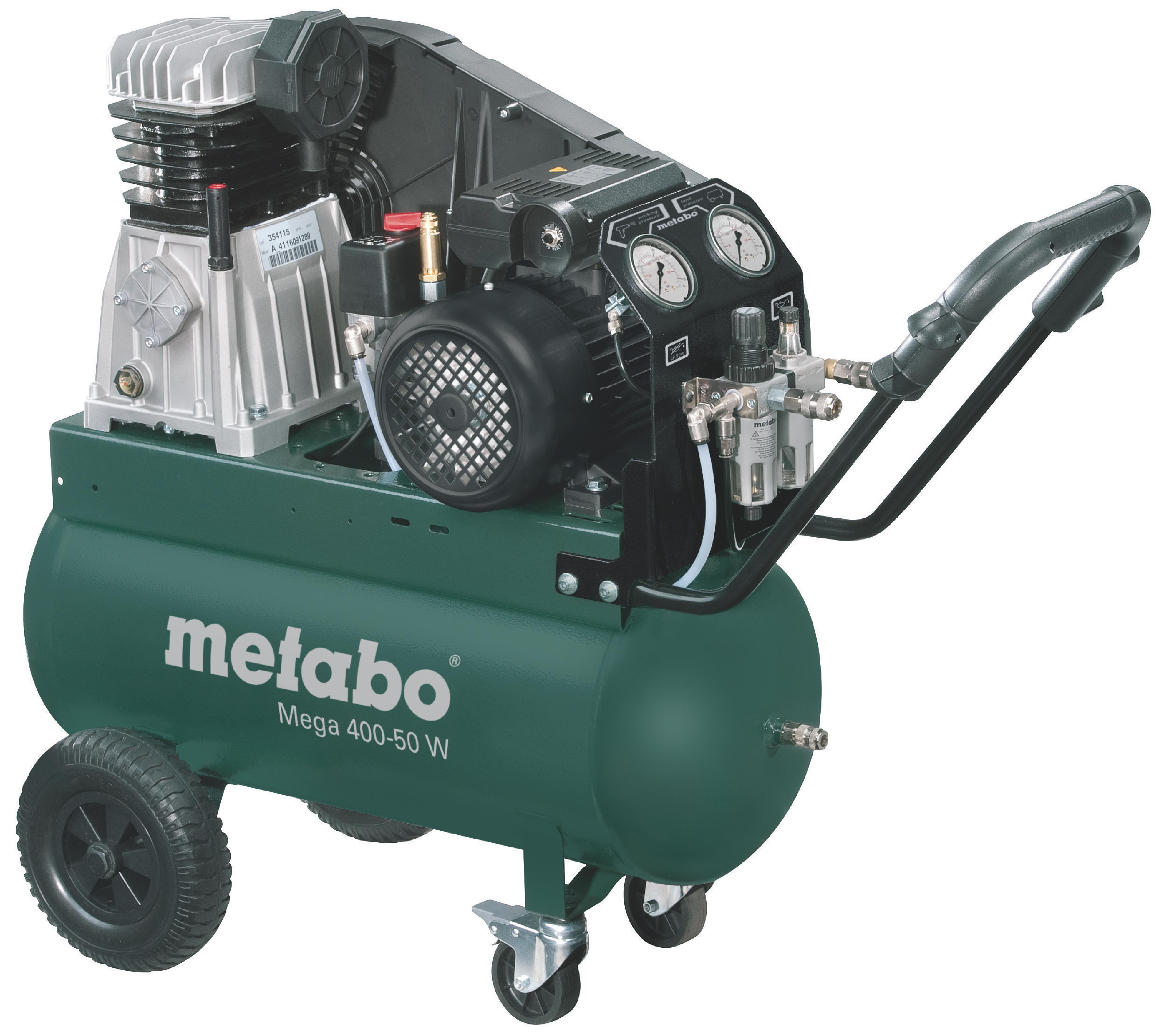Metabo Mega 400-50 W kompresszor 50l, 2,2kW, 10bar