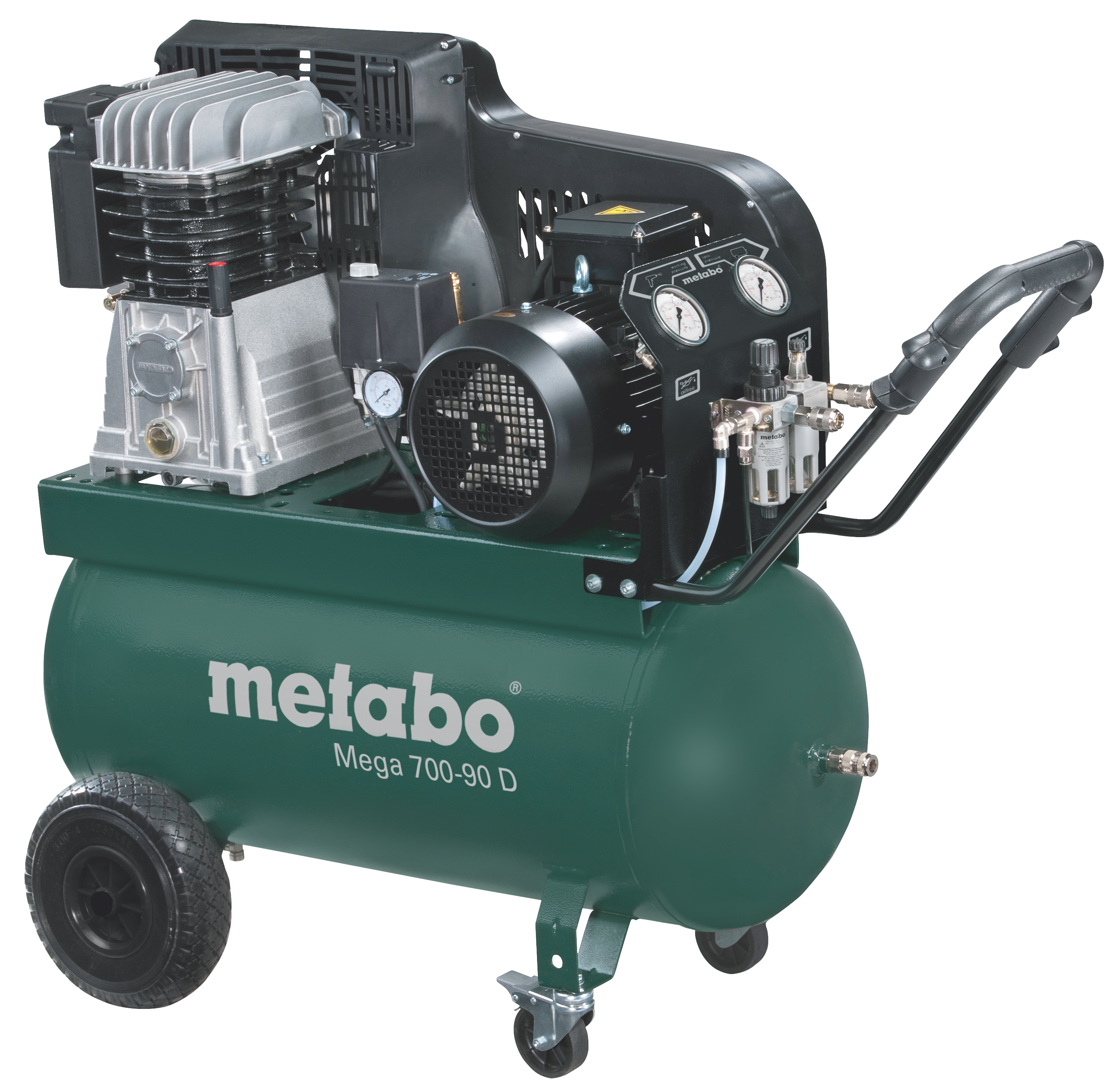 Metabo Mega 700-90 D kompresszor 90l, 4kW, 11bar