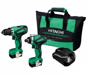 Hitachi KC10DML fúró- és ütvecsavarozó csomag